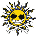 Beach Bar Fundraising logo icon