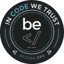 Be Code logo icon