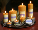 Bee Hive Candles logo icon