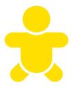 Bella Baby logo icon