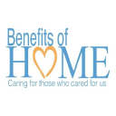 Benefits of Home-Senior Care logo