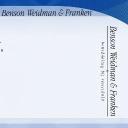 Benson Weidman & Franken BV logo