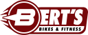 Bert's Bikes and Fitness logo