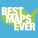 Best Maps Ever logo icon