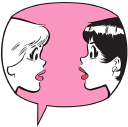 Betty And Veronica logo icon