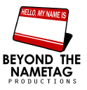 Beyond the Nametag Productions logo