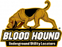 Blood Hound Utility Locators logo icon