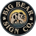 BIG BEAR SIGN CO. logo