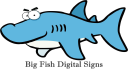 Big Fish Digital Signs, Wilson NC logo