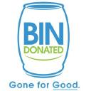 Bin Donated (501 C3) logo