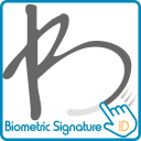 Biometric Signature Id logo icon