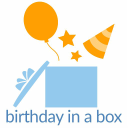 Birthday in a Box, Inc. logo