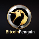 Bitcoin Penguin logo icon