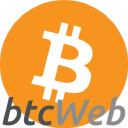 Bitcoin Web logo icon