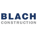 Blach Construction Company logo