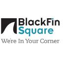 Black Fin Square logo icon