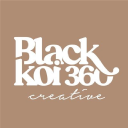 Black Koi 360 Marketing logo
