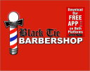 BLACK TIE BARBERSHOP LLC. logo