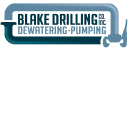 Blake Drilling Co. - Specialists in Ground Water Control logo