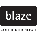 Blaze Communication +44 (0)20 8360 8244 logo