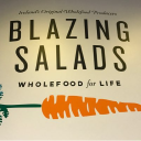 Blazing Salads Food Co. logo