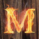 Blazin' M Ranch logo