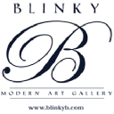Blinky B Art Gallery logo