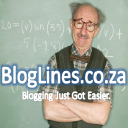 Bloglines.co.za logo