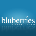 Bluberries Advertising logo