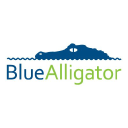 Blue Alligator logo icon