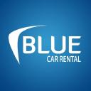 Blue Car Rental logo icon
