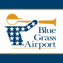 Blue Grass Airport logo icon