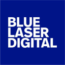 Blue Laser Design logo icon
