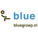 Blue personeelsbemiddeling logo