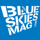 Blue Skies Magazine logo