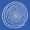 Blue Spiral 1, Gallery of Fine Art and Craft, Asheville NC logo