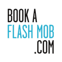 BookAFlashMob.com logo