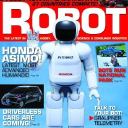 Robot Magazine logo icon