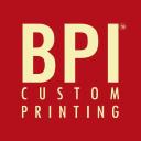 BPI Custom Printing. Inc. logo