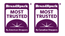BrandSpark Most Trusted Awards Program logo