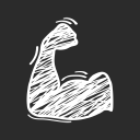 Hot Midwest Beef Jerky logo icon