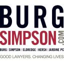 Burg Simpson logo icon