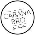 Cabana Bro Shorts Logo