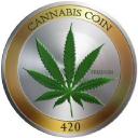Cannabis Coin logo icon