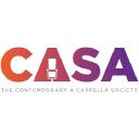 Contemporary A Cappella Society logo icon