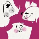 Cat Dog Fish logo icon