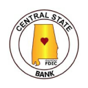 Central State Bank logo icon