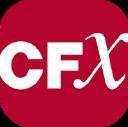 cfX Incorporated logo