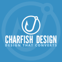 Charfish Design logo icon