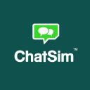 ChatSim – International sim card for chat apps Logo